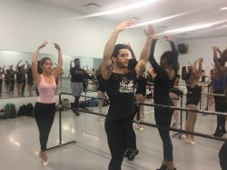 Students in a Dance Day workshop in 2015.