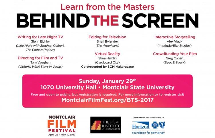 Behind the Screen - University Calendar - Montclair State