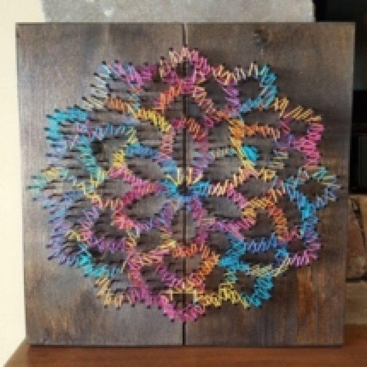 Rec Nights Nail String Art University Calendar Montclair State