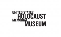 "white background with black text "" United States Holocaust Memorial Museum"""