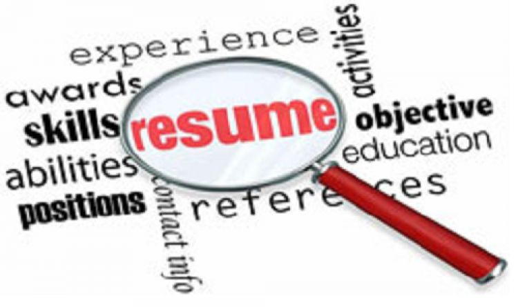 header image for event - Effective Resume Writing