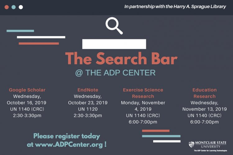 The Search Bar - Exercise Science Research - University Calendar