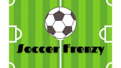Clipart of a soccer field soccer ball