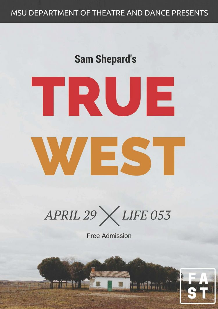 the conflict between austin and lee in true west by sam shepard  an idaho staging of sam shepard's true west starring bruce willis,   examination of the writer's own inner conflict — both austin and lee.