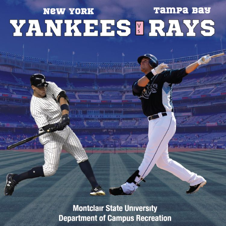 University Of Tampa Calendar.Yankees Vs Rays University Calendar Montclair State University