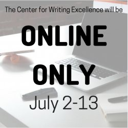 Feature image for CWE ONLINE ONLY from July 2-13