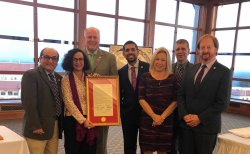 Feature image for Dr. Fiore Recognized as Italian American Heritage Month Woman of the Year (Passaic County)