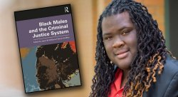 photo of Professor Jason Williams and cover of latest book