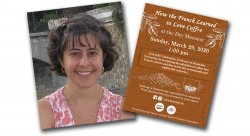 Julie Landweber and Flyer for her event