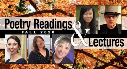 Collage of Fall Poetry Readins & Lectures
