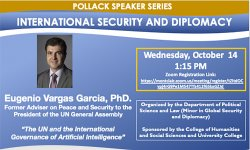 Image of Pollack Speaker Series