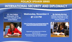 November 4th Image for Pollack Speaker Series