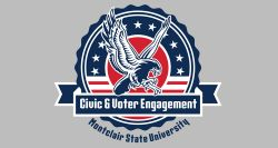 Civic and voter engagement logo
