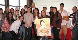 Students attending Italian Language and Culture Day