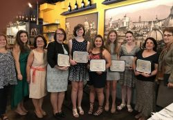 Student Recipients of AATI awards