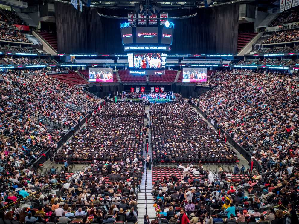 Montclair State University Graduation 2020.Commencement Montclair State University