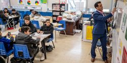 NMUTR visits Barringer HS in Newark