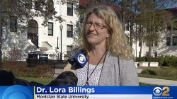CSAM Dean, Dr. Lora Billings, CBS2 interview