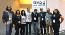 MSU Group at AGU Conference