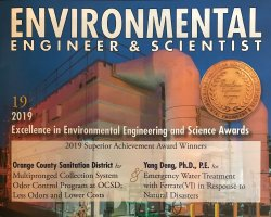 Cover of Environmental Engineer & Scientist magazine