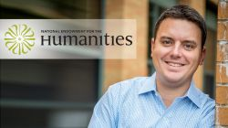 photo of Jeffrey Miller will the National Endowment for the Humanities logo