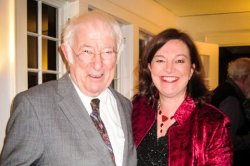 Geraldine Higgins and Seamus Heaney