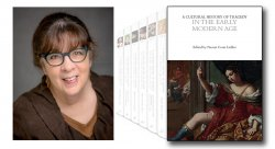 Collage of Photo of Naomi Leibler and her new book cover