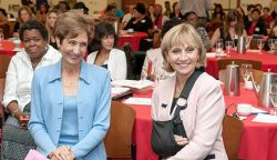 Photo of Kim Guadagno and Mimi Feliciano