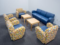 Clinical Services empty meeting room