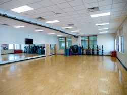 Student Recreation Center fitness room