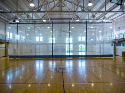 Student Recreation Center basketball court