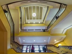 University Hall main stairs