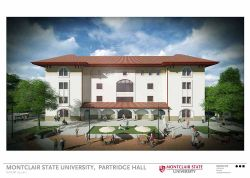 Rendering of Partridge Hall