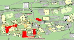 Map for Construction Update for Week of January 21