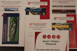 Photo of employee manuals