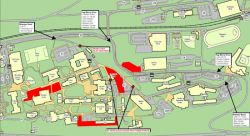 Map for Construction Update for Week of November 12
