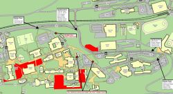Map for Construction Update for Week of January 28