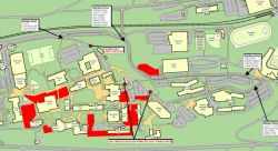 Map for Construction Update March 25, 2013