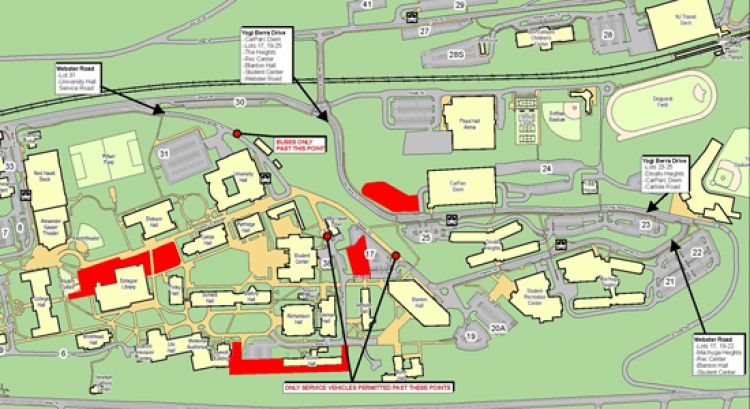 Map For Construction Update Week Of November 19