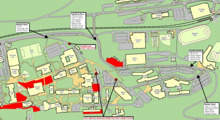 Montclair State Campus Map Construction Update For July 3 – University Facilities   Montclair