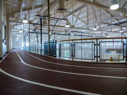 Student Recreation Center indoor track