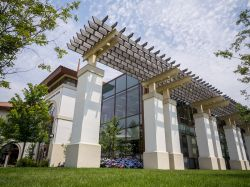 Student Recreation Center exterior pergola