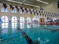 Student Recreation Center swimming pool