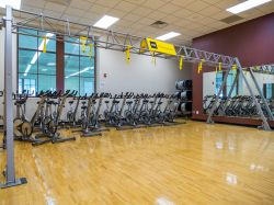 Student Recreation Center workout room
