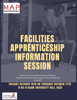 Facilities Apprenticeship Flyer