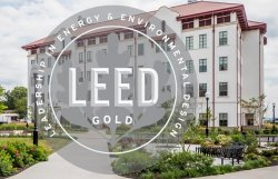 leed gold certification seal over CELS