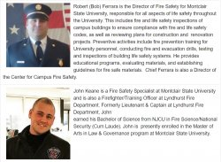 Fire Safety Panelists