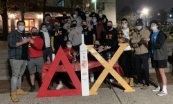 Delta Chi Greek Night Group Photo
