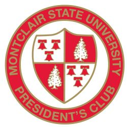 Montclair State University President's Club Seal