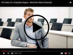 video graphic of man in suit